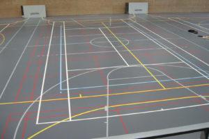 Sporthalle Belgien